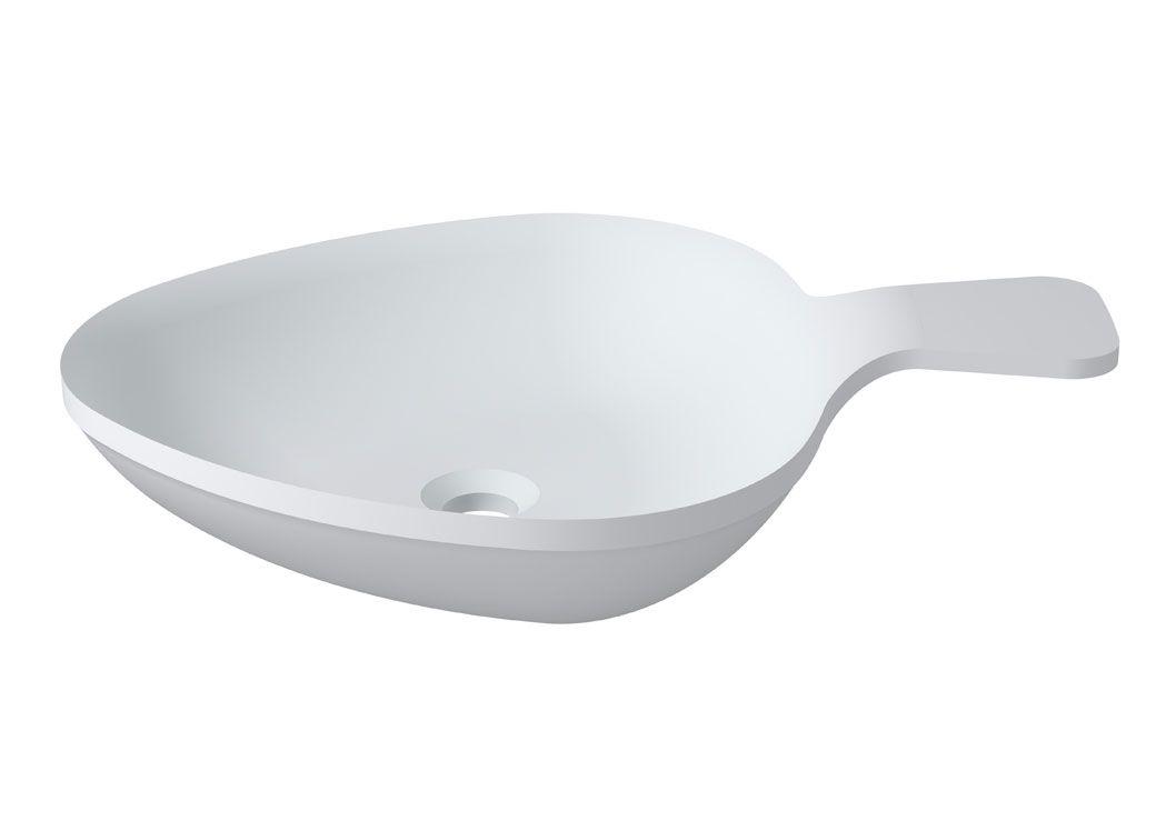 vasque design en solid surface blanc mat sdv14. Black Bedroom Furniture Sets. Home Design Ideas