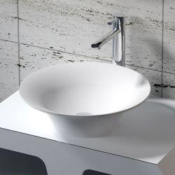 Vasque ronde évasée en solid surface SDV32