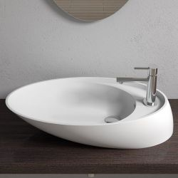 Vasque design en solid surface SDV38