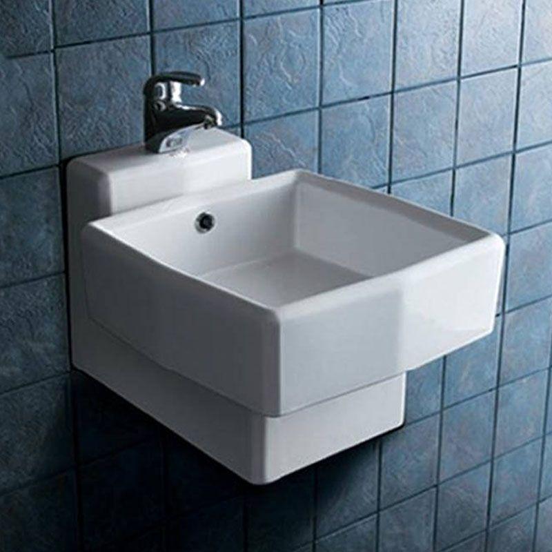 lave main original en céramique lavabo pour wc suspendu