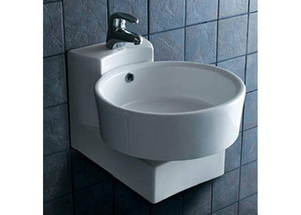 lave main rond suspendu lave main rond en c ramique lave. Black Bedroom Furniture Sets. Home Design Ideas