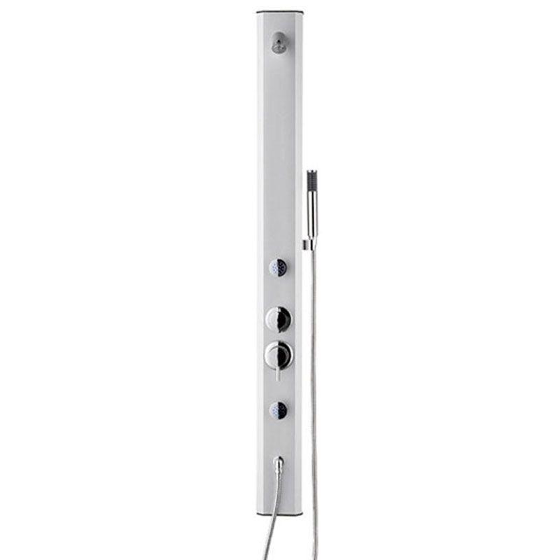 SDTNL36 Colonne de douche hydromassante multifonction blanc