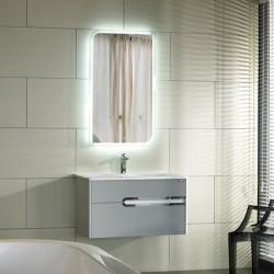 Meuble salle de bain SDZH-22088 coloris gris