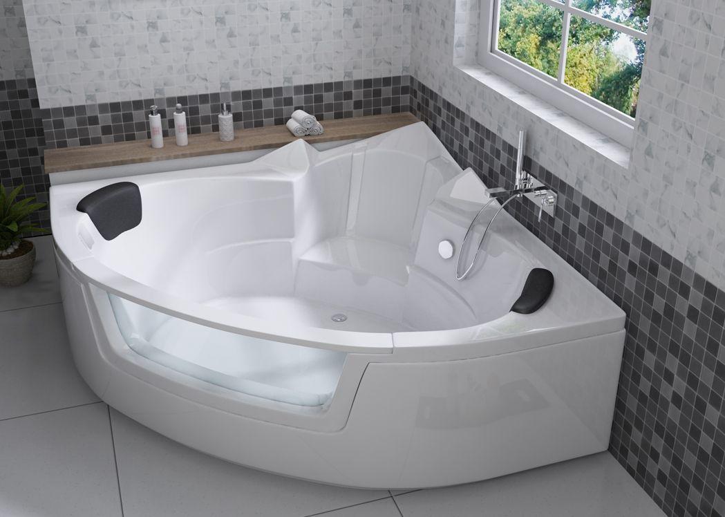 baignoire d 39 angle en acrylique love you baignoire gain de. Black Bedroom Furniture Sets. Home Design Ideas