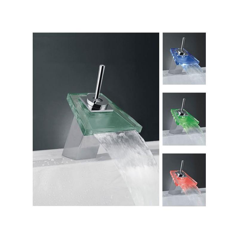 Robinet pour vasque avec mitigeur en tige