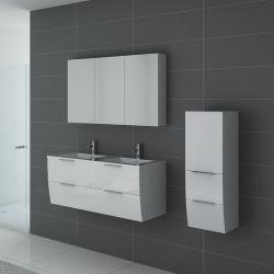 Ensemble de salle de bain double vasques, meuble de salle de ...