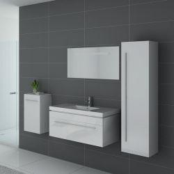 Meubles salle de bain SANREMO B Blanc - Salledebain Online