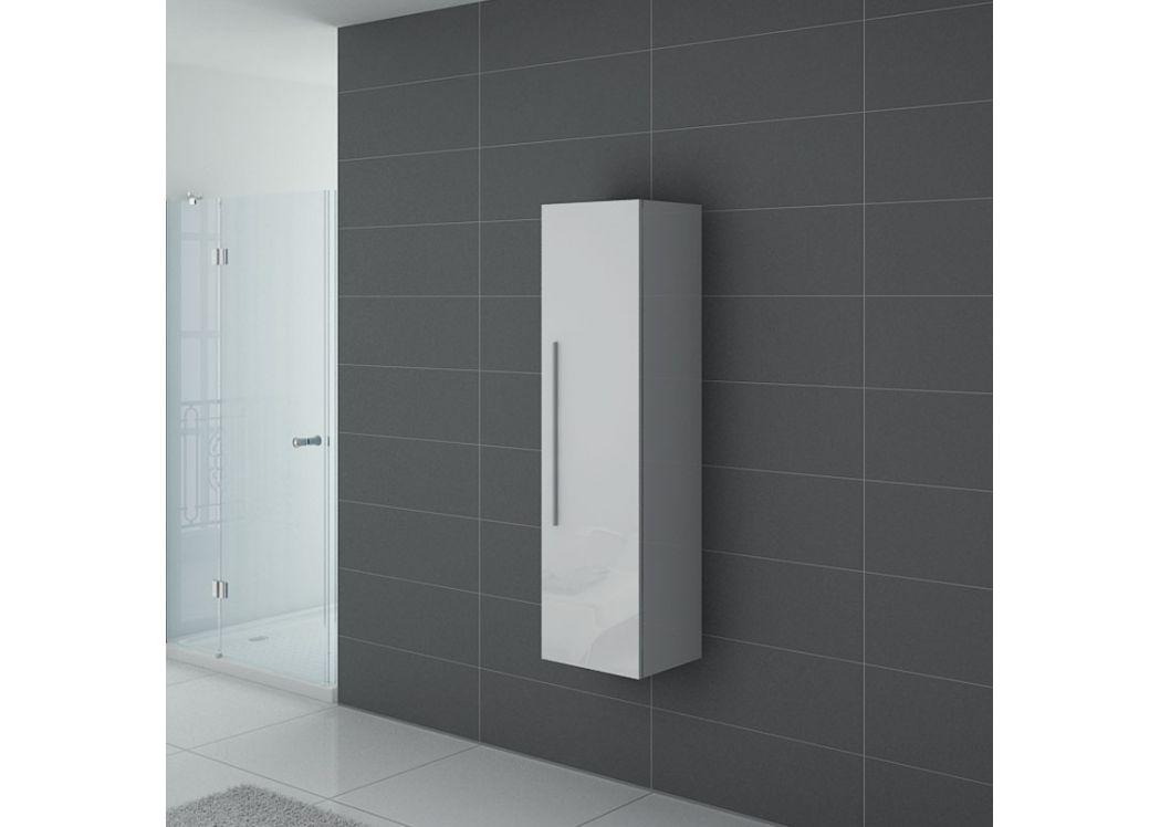 Colonne de salle de bain blanche meuble colonne blanc colonne de rangement blanche - Colonnes salle de bain ...