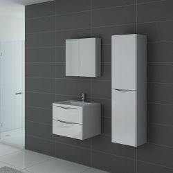 Petit ensemble de salle de bain TREVISE 600 Blanc