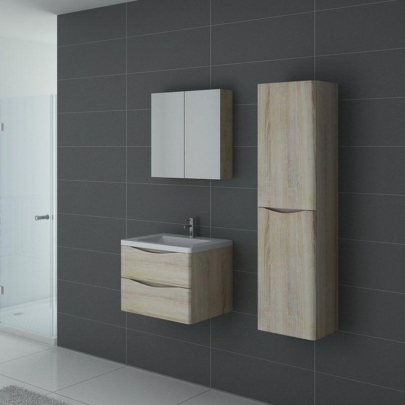 Meuble salle de bain TREVISE 600 Scandinave