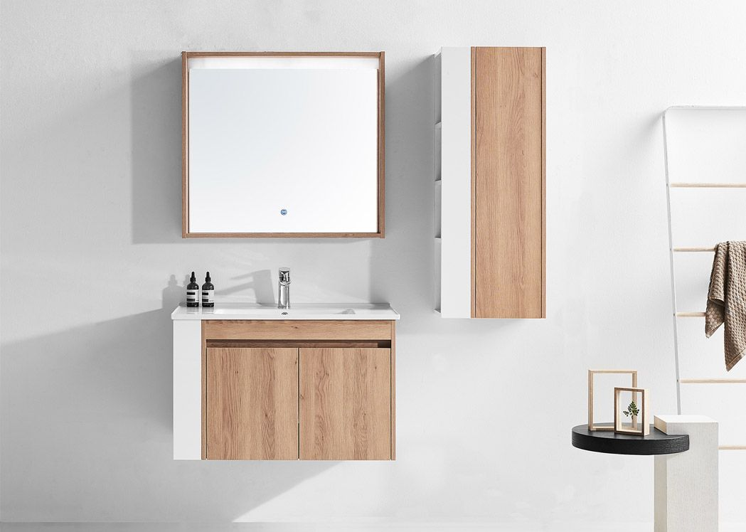 Meuble simple vasque suspendu design salledebain online - Meuble salle de bain simple vasque ...