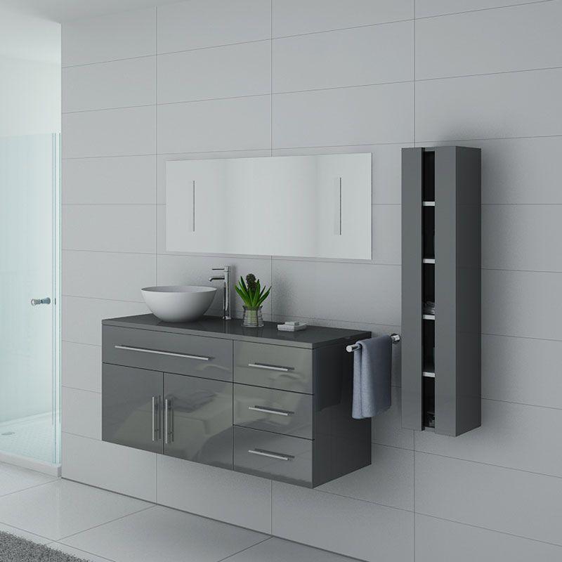 Meuble de salle de bain AREZZO GT Gris Taupe