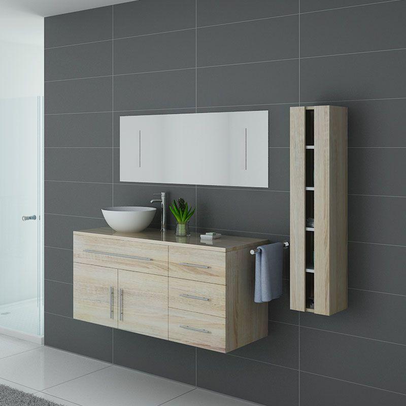 Meubles salle de bain AREZZO SC Scandinave - Salledebain Online