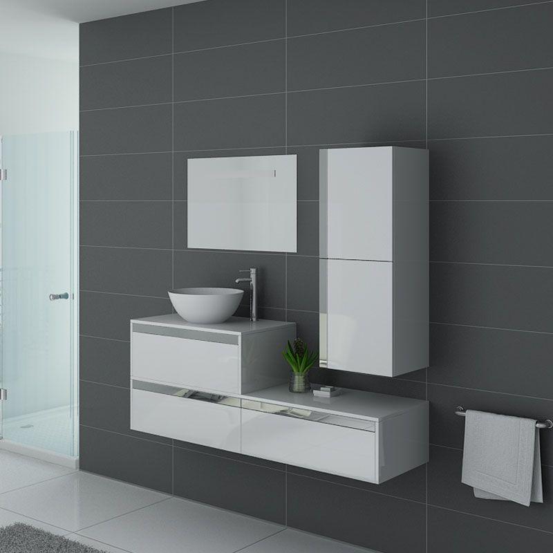 Meubles salle de bain Bolzano Blanc