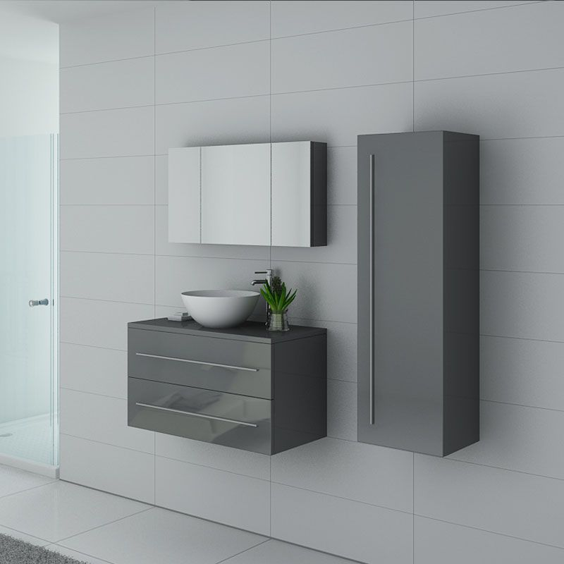 Meubles salle de bain CONSENZA GT Gris Taupe