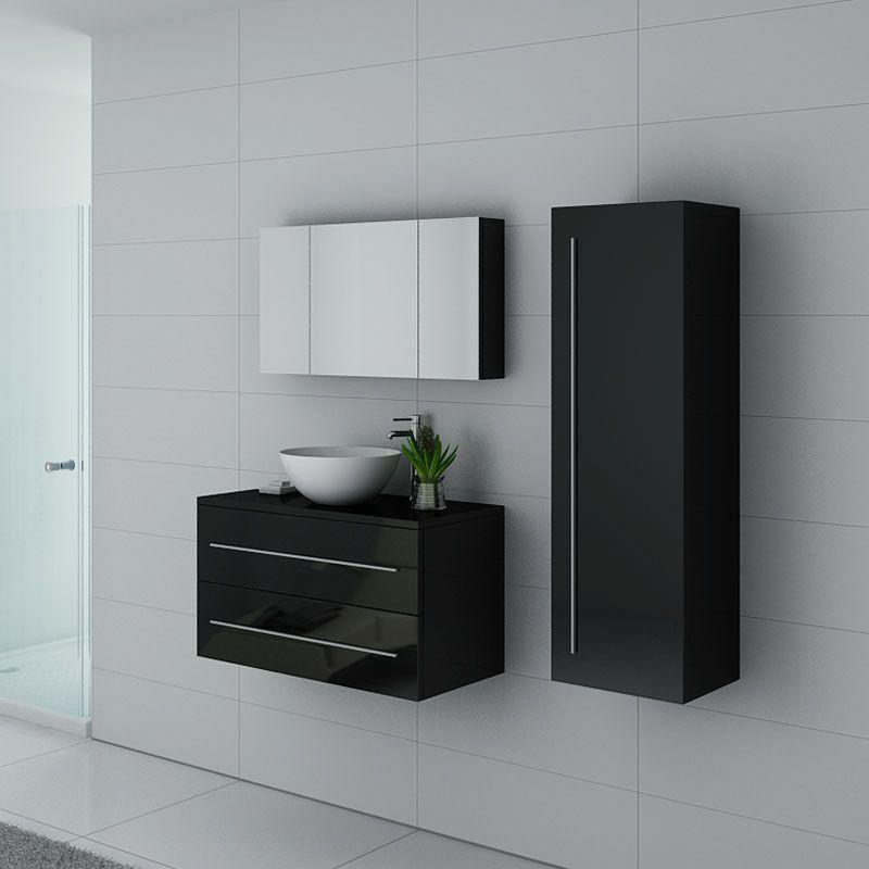 Meubles salle de bain COSENZA N Noir
