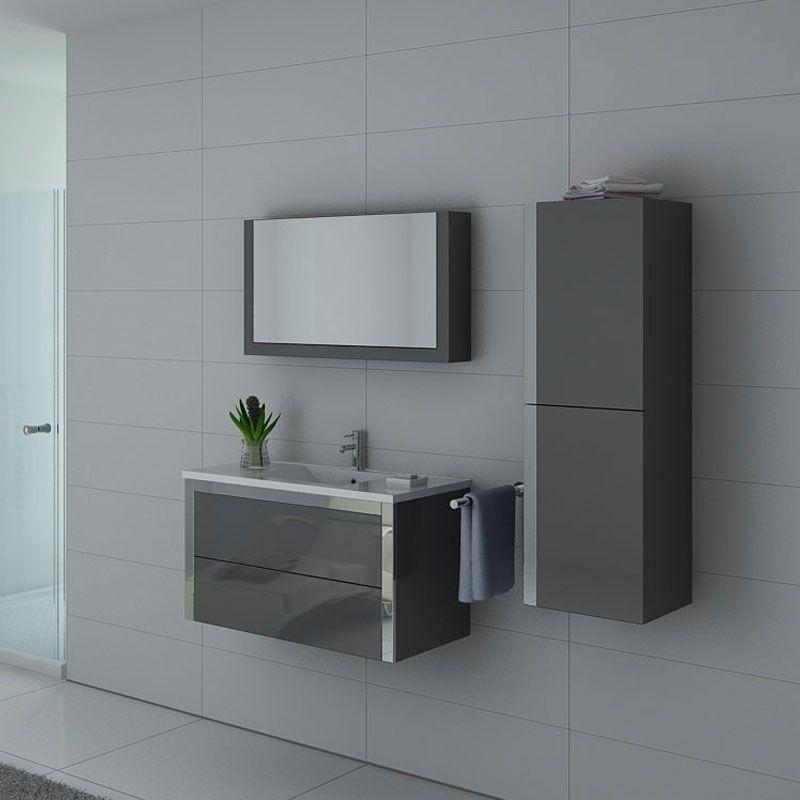 Ensemble de meubles sanitaires avec armoire de toilette DIS025-900GT