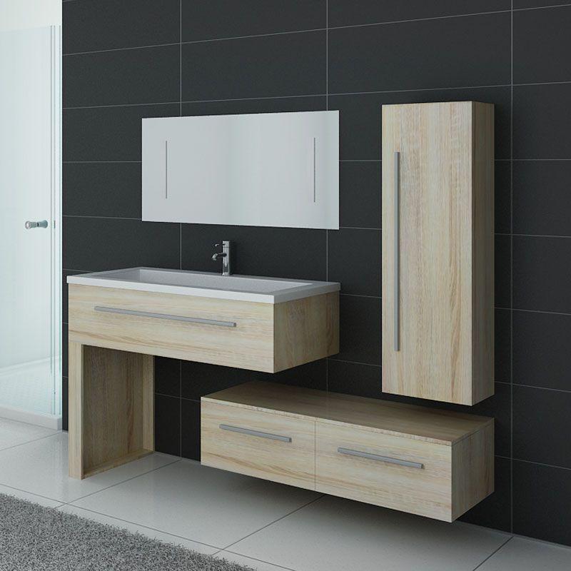 meuble de salle de bain scandinave 1 vasque meuble de. Black Bedroom Furniture Sets. Home Design Ideas