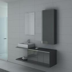 Meubles salle de bain DIS9450GT Gris taupe