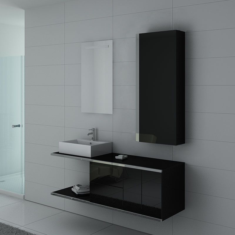 Meubles salle de bain DIS9450N Noir