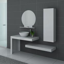ensemble salle de bain MONZA Blanc