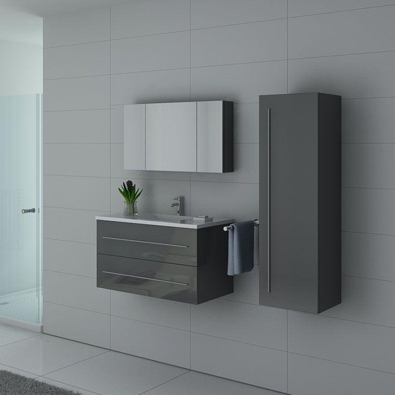 Meubles salle de bain NOVA GT Gris Taupe
