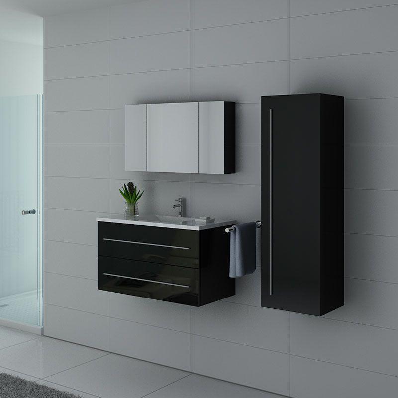 Meuble de salle de bain nova suspendu, meuble de salle de bain nova réf :  NOVA N