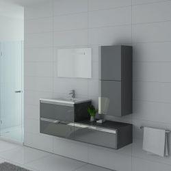 Meuble de salle de bain design couleur gris taupe Sublissimo GT