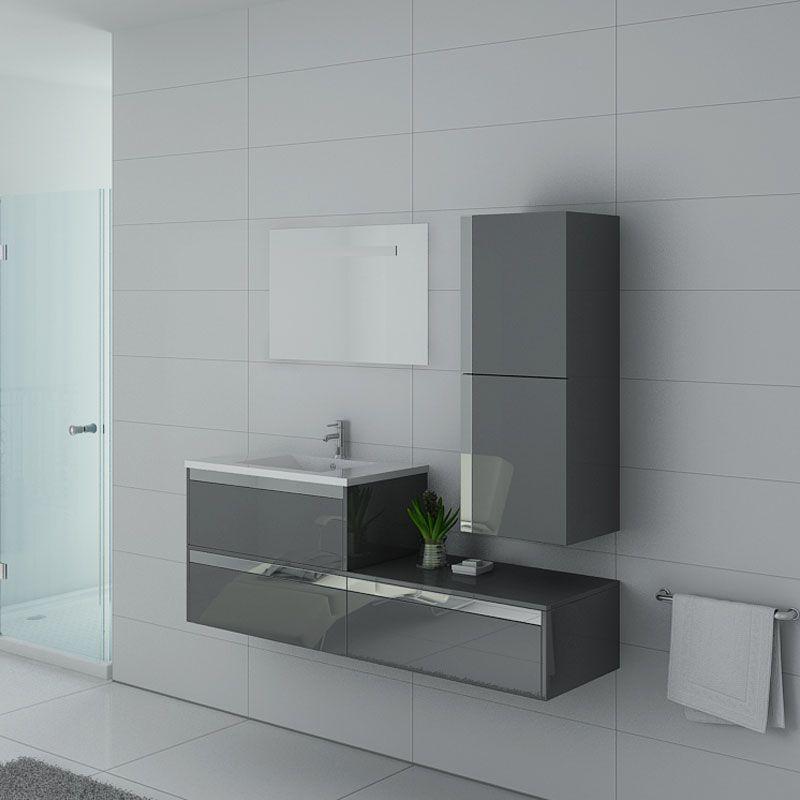 Meubles salle de bain Sublissimo Gris Taupe