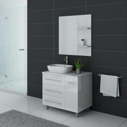 Meubles salle de bain TOSCANE Blanc