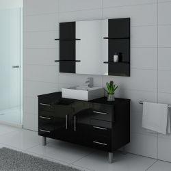 Ensemble salle de bain TURIN Noir