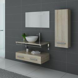 Meuble de salle de bain simple vasque VIRTUOSE Scandinave