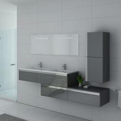 Meubles salle de bain BELLISSIMO GT Gris Taupe