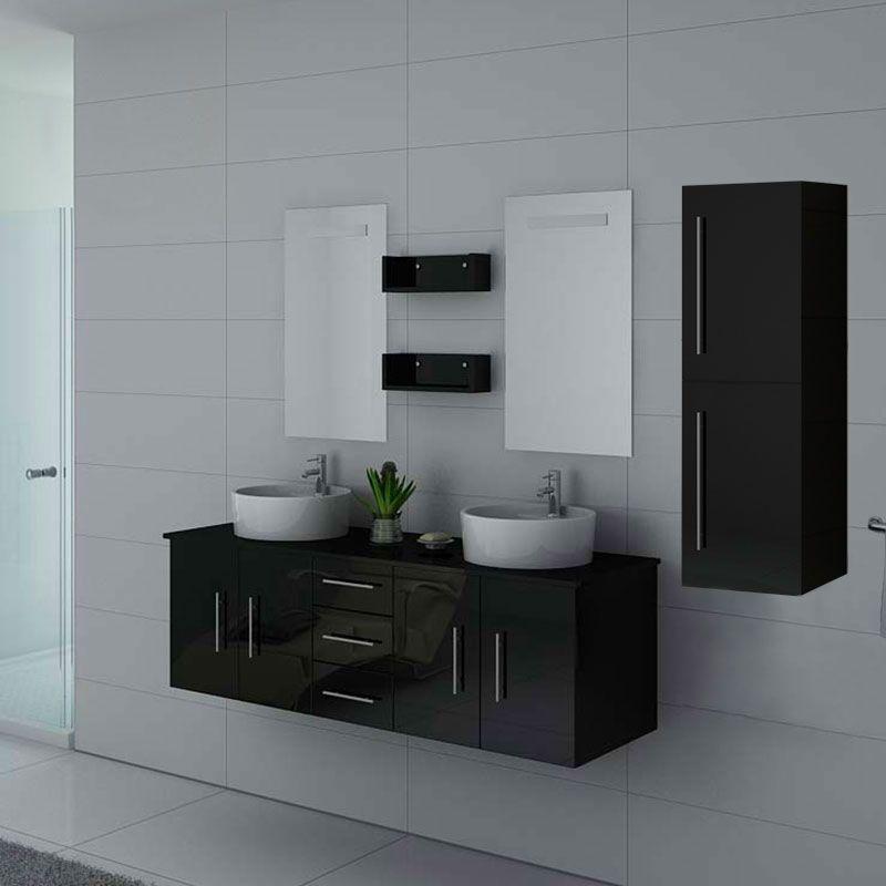 Meubles salle de bain DIS747N Noir