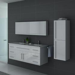 Meubles salle de bain DIS749B blanc