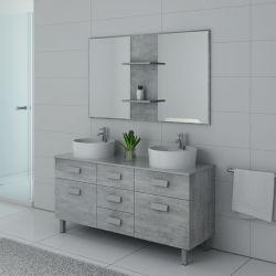Meuble et miroir design pour salle de bain DIS911BT