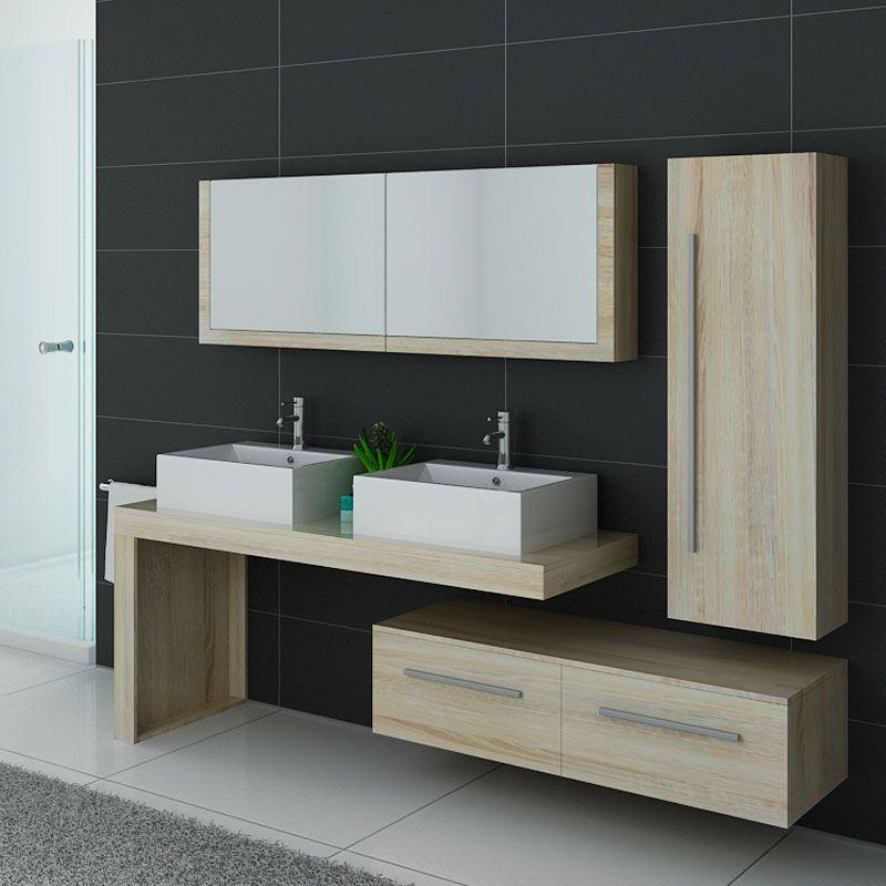 Meuble de salle de bain design scandinave, meuble scandinave pour salle de  bain - Salledebain Online