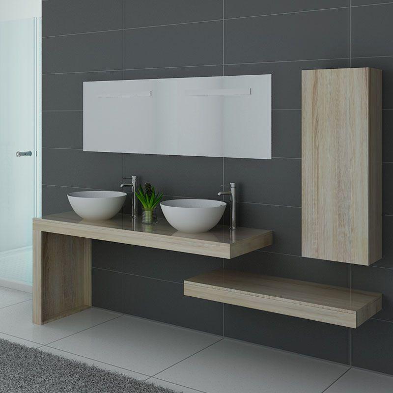 Meubles salle de bain MONZA DUO Scandinave