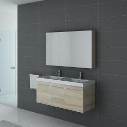 Ensemble salle de bain double vasque avec option colonne de rangement