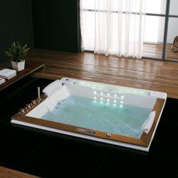 Plan d'installation de la baignoire balnéo rectangulaire encastrable Haraiki-E