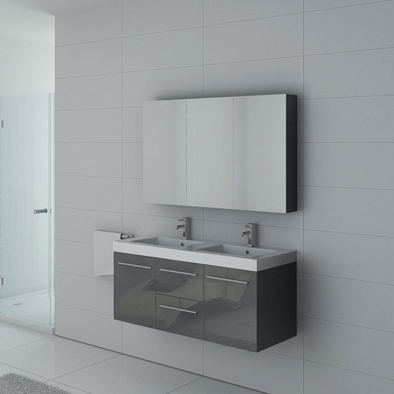 Meubles salle de bain PALERME GT Gris Taupe - Salledebain Online