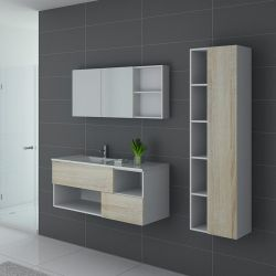 Meuble de salle de bain 1 vasque FARALDI 1200 SC-B