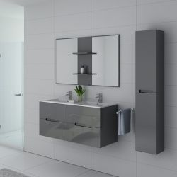 Meubles salle de bain MILAZZO Gris Taupe