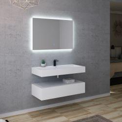 Meuble salle de bain AVELLINO 1000