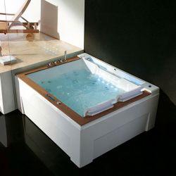 Belle baignoire balneo rectangulaire Makatea Gauche