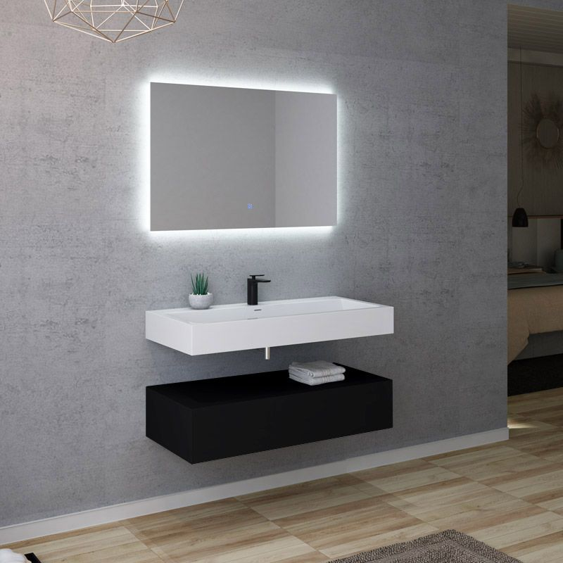 Meuble salle de bain AVELLINO 1000N