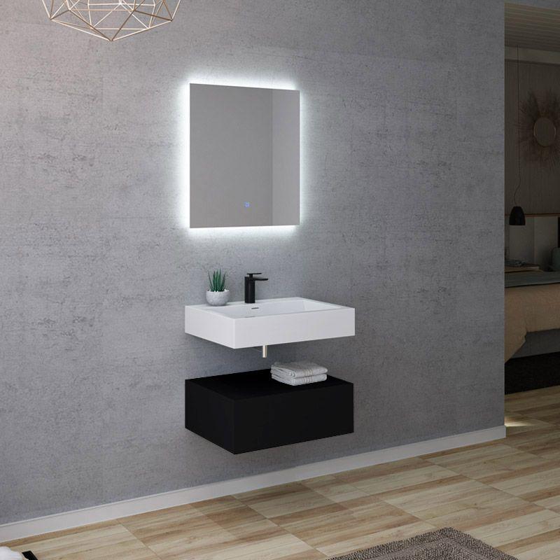 Meuble salle de bain AVELLINO 600N