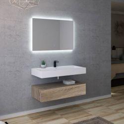 Meuble salle de bain AVELLINO 1000SC