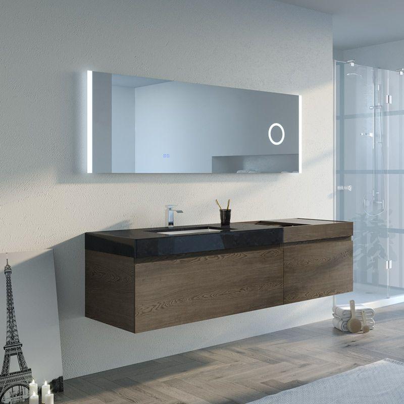 Ensemble meuble miroir PALAZZA 1800CG