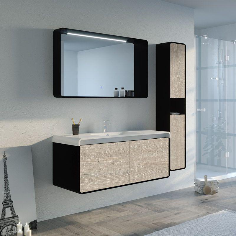Meuble salle de bain LUMARZO 1200SC-N